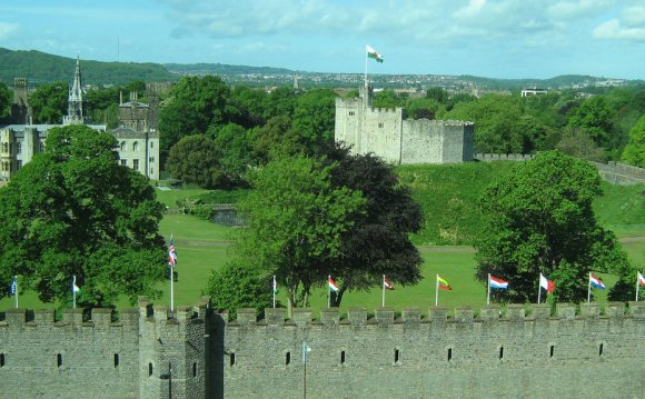 Cardiff Castle by Col dord